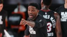 Heat players, former NBA stars react to Udonis Haslem's fiery speech