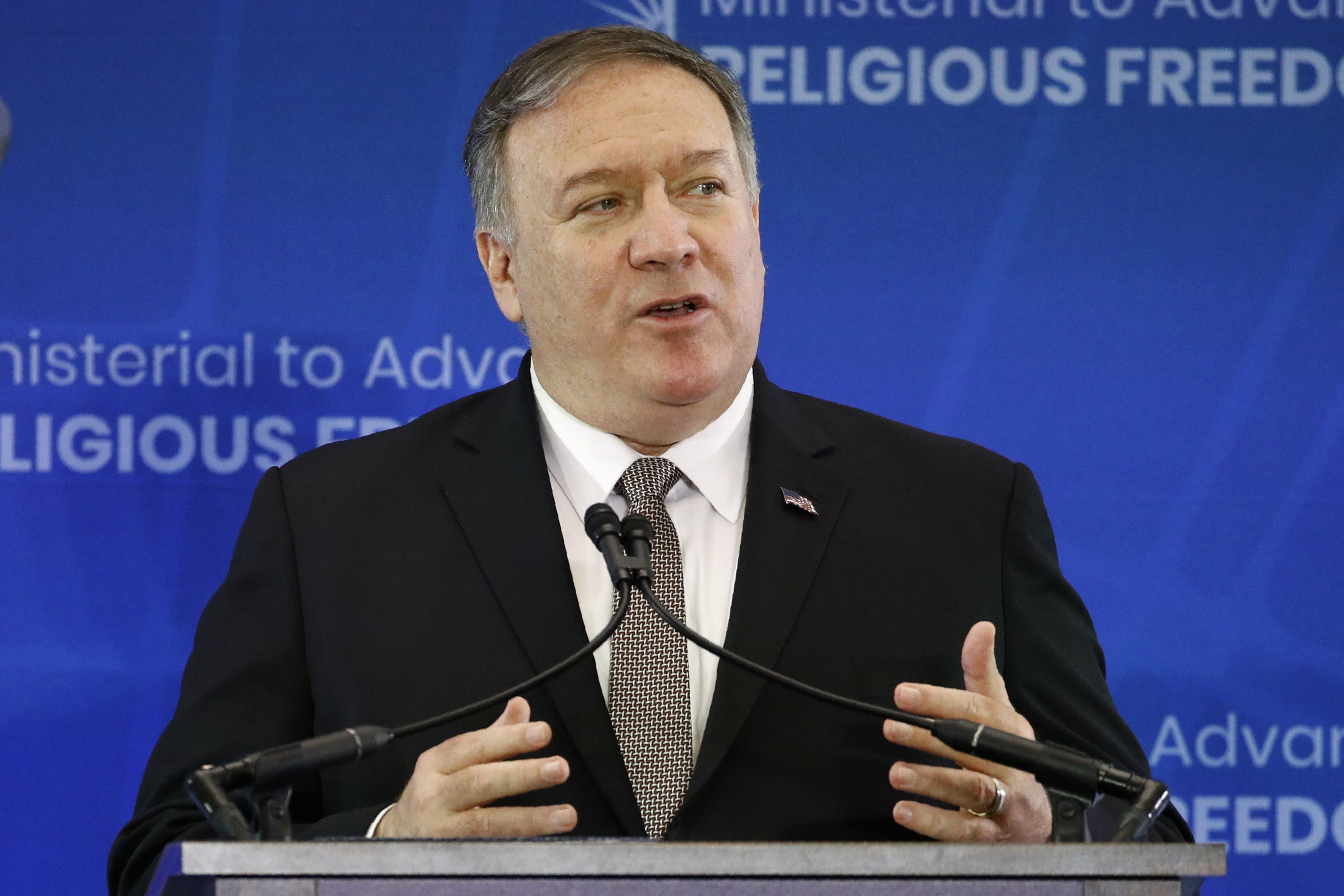 Hypocritical US can't comment on religious freedom: China says