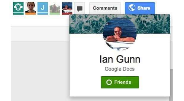 Google Drive now lets collaborators add friends, start chats with fewer clicks