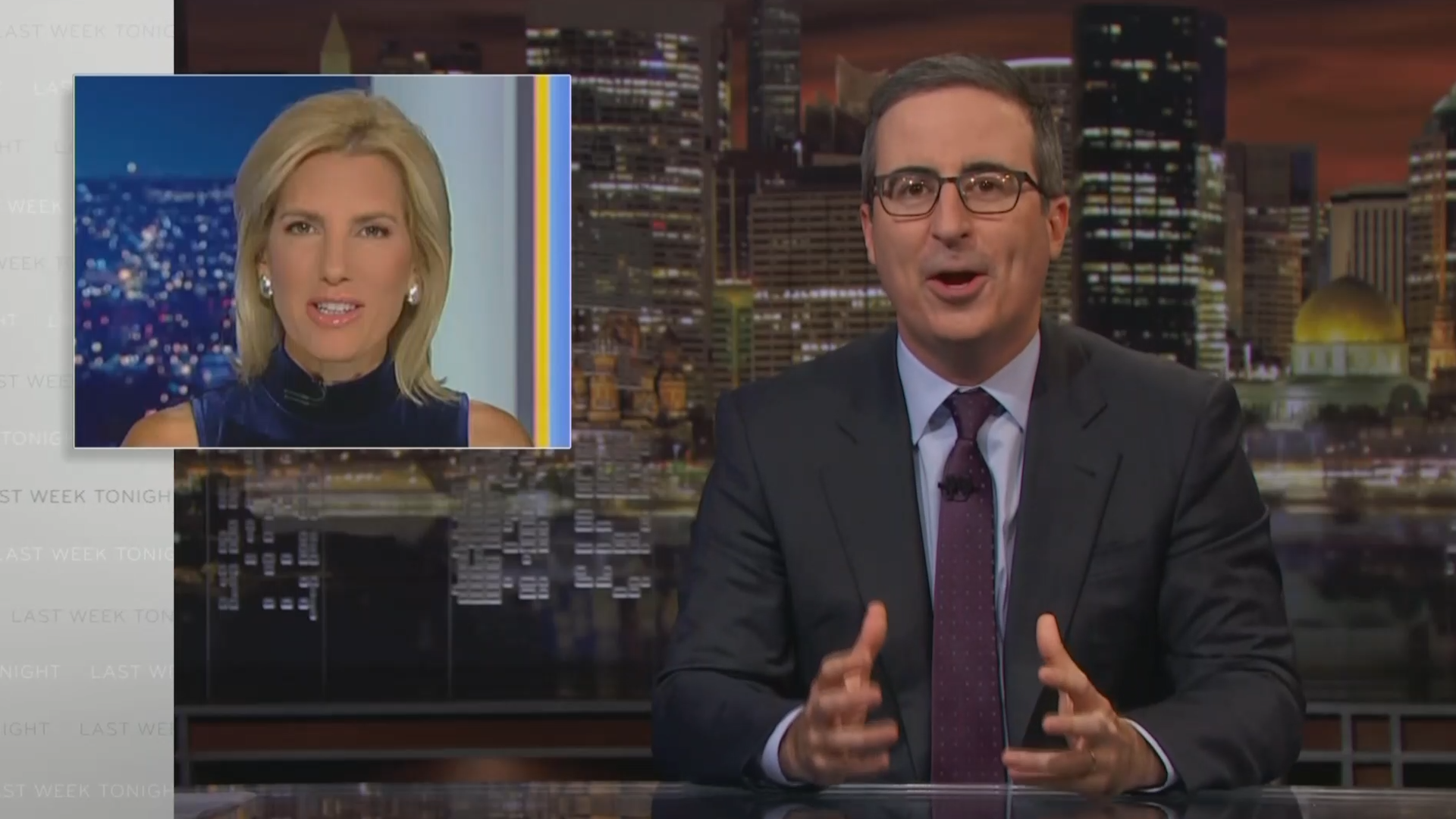 John Oliver goes after Republicans attacking Trump impeachment inquiry - Yahoo Sports