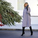 Following controversial Christmas comments, Melania Trump unveils White House holiday decor