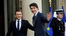 In Paris, Trudeau defends benefits of EU-Canada trade deal