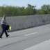 Ohio State Trooper Escorts Family of Geese Across Interstate