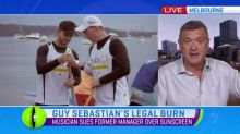 Guy Sebastian's legal burn