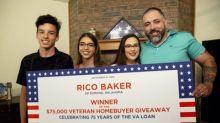 U.S. Navy Veteran Wins $75,000 Veteran Homebuyer Giveaway