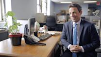 Seth Meyers On His First Job as a Sandwich Delivery Guy & Naming His Car Le Seth