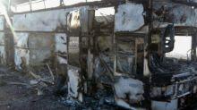 Incêndio em ônibus deixa mais de 50 mortos no Cazaquistão