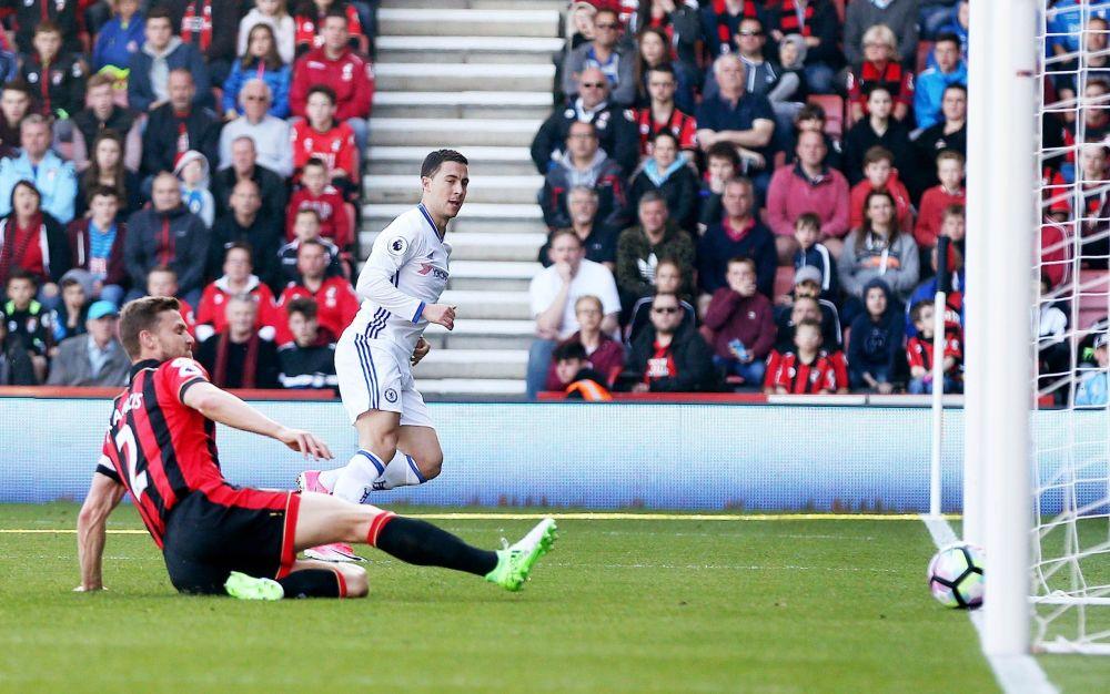 Eden Hazard scores for Chelsea - Rex Features