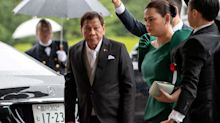 Philippines' Duterte says women not fit to be president amid speculation his daughter could succeed him