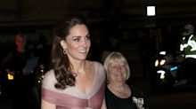 Pretty in Pink Kate Middleton en gala