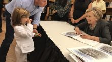 This Girl Meeting Hillary Clinton In A Pantsuit Will Melt Your Heart
