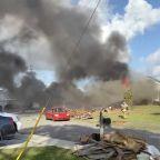 Navy training plane crashes into Alabama neighborhood, killing 2 pilots