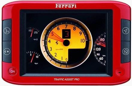 Becker burns out with Ferrari-themed Traffic Assist Pro GPS