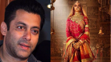 Salman Khan supports Padmavati: Sanjay Leela Bhansali's films have no vulgarity; he will never show anyone in a bad light