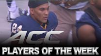 ACC Football Players of the Week Announced | ACC NOW