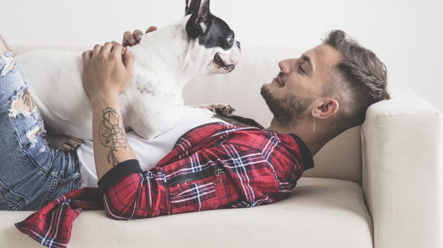 Most men feel closer to dogs than humans
