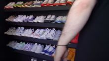 Essex man's £50,000 collection of designer trainers