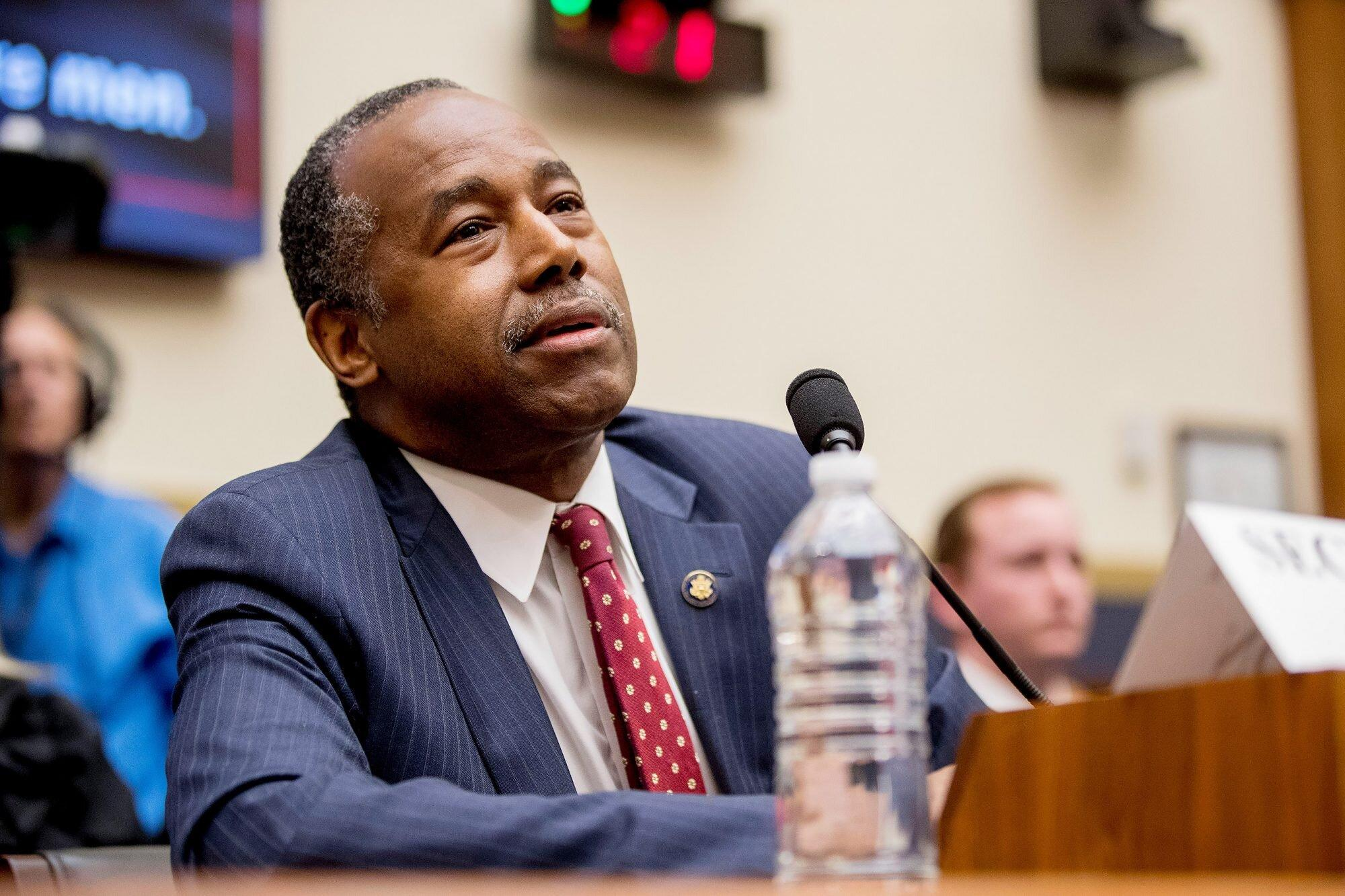 Ben Carson Is the Latest Top Trump Administration Official ...