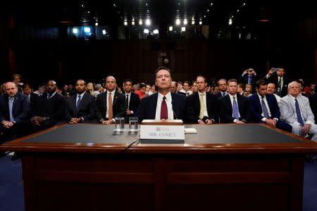 Trump, Republicans intensify attack on ex-FBI director Comey