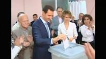 Election day in Syria