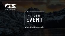 Princess Cruises Cyber Event Includes Two Great Offers