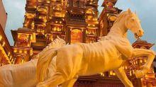 Kolkata: 'Padmaavat' returns as Durga Puja theme in two pandals