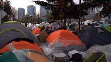 Chile: más de 600 bolivianos acampan para ser repatriados