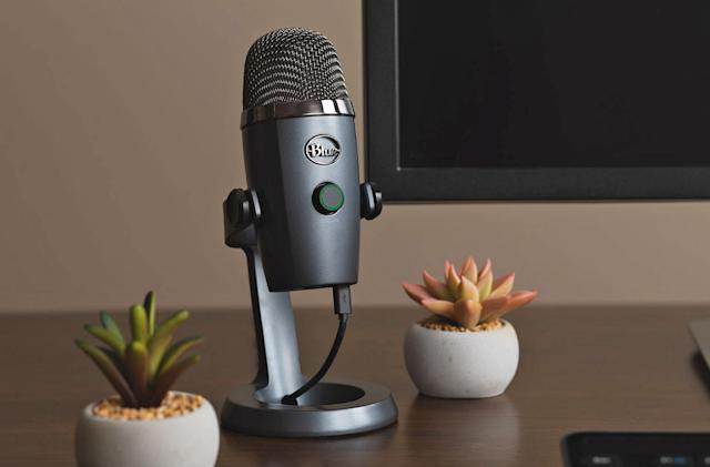 Blue's Yeti Nano is built for simple, high-quality desktop recording