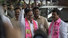 KCR unstoppable as TRS heads for landslide win in Telangana municipal elections