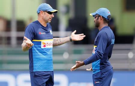 Cricket - Sri Lanka v India - Sri Lanka Team's Practice Session