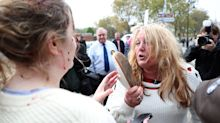 Women brawl at Ukip rally outside Hartlepool pub ahead of Paul Nuttall appearance