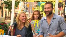 'Suicide Squad' Stars Make Surprise Visit to Girl's Lemonade Stand