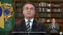 Bolsonaro afirma que golpe de 64 respondeu a 'ameaça do comunismo' e diz ter compromisso com democracia