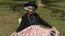Fashion-Show im Hinterhof: Diese 91-Jährige ist ein echter Youtube-Star
