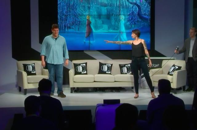 Engadget's annual CES dance break is a 'Frozen' duet