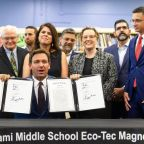 Gov. Ron DeSantis signs bills revamping early learning, literacy at West Miami Middle