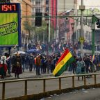 Clashes as acting Bolivia leader aims to end power vacuum