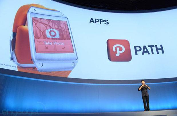 Samsung Galaxy Gear apps include Path, Pocket, RunKeeper and more