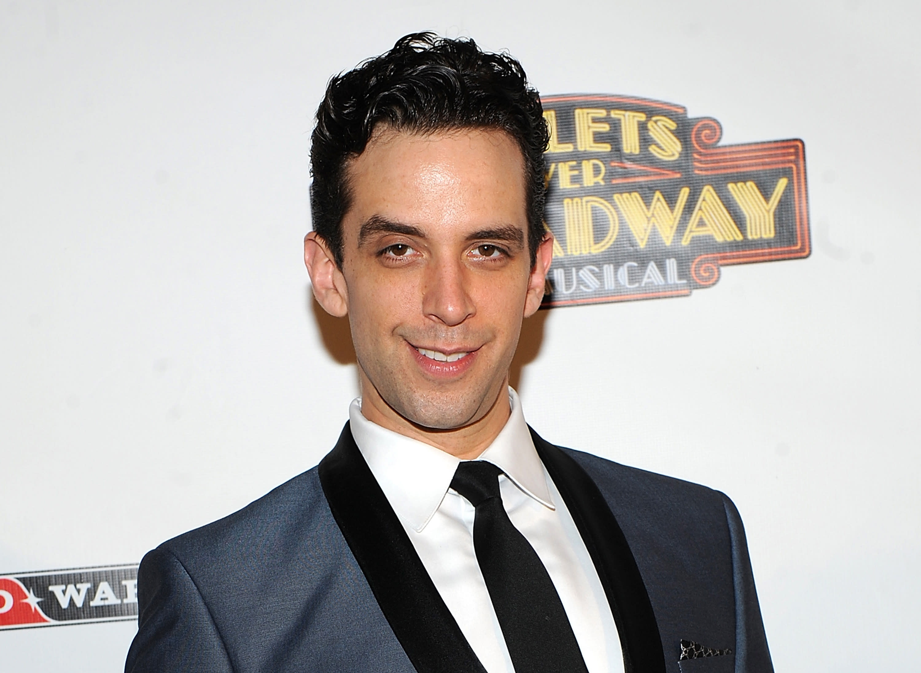 "FILE - In this April 10, 2014, file photo, actor Nick Cordero attends the after-party for the opening night of ""Bullets Over Broadway"" in New York. Tony Award-nominated actor Cordero, who specialized in playing tough guys on Broadway in such shows as ""Waitress,"" ""A Bronx Tale"" and ""Bullets Over Broadway,"" has died in Los Angeles after suffering severe medical complications after contracting the coronavirus. He was 41. Cordero died Sunday, July 5, 2020, at Cedars-Sinai hospital after more than 90 days in the hospital, according to his wife, Amanda Kloots. (Photo by Brad Barket/Invision/AP, File)"