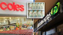 Woolworths and Coles increase milk price in support of drought-affected farmers