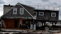 Salvaging Sandy's remains on the Jersey Shore