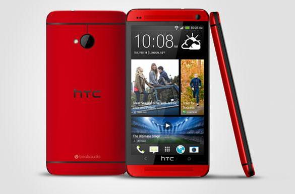 HTC One launches in 'glamour red', arrives in the UK next month (update: pricing)