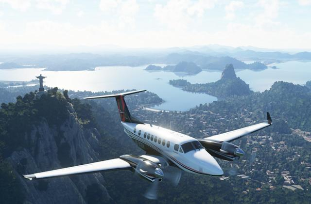 'Microsoft Flight Simulator' comes to Xbox Series X/S next summer