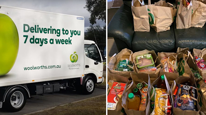 Woolworths shopper irate after 'really negligent' grocery delivery