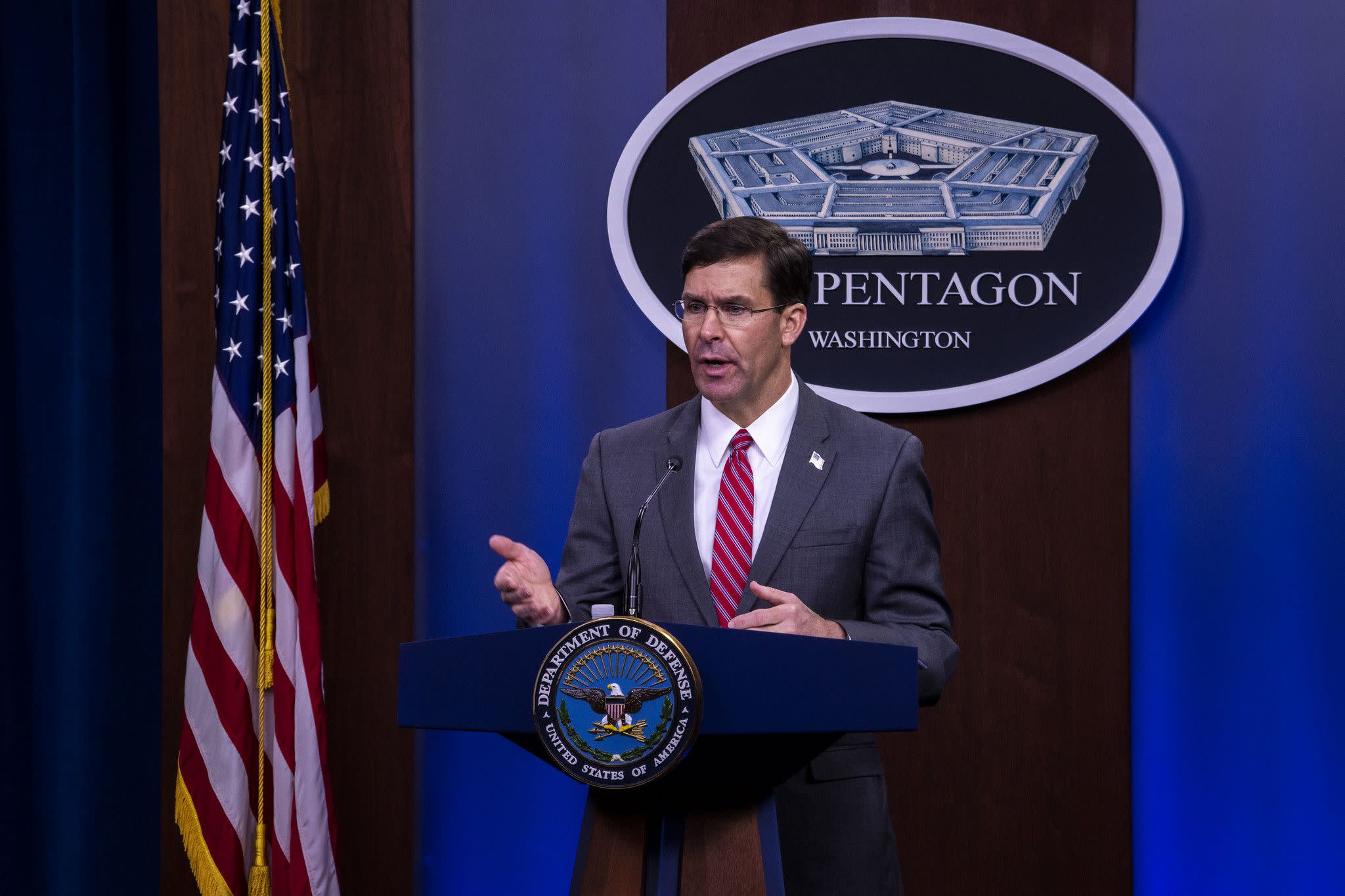 In memo to force, Esper issues directions on operational security