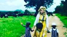 Madonna presenta a las dos niñas que ha adoptado en Malaui tras recibir autorización judicial