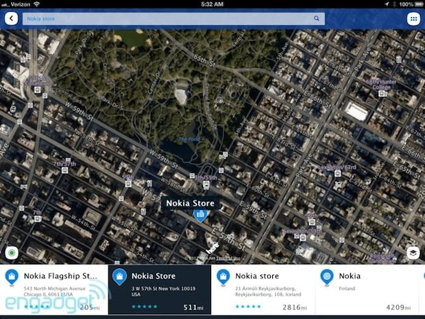 Nokia pulls Here Maps from the App Store, blames iOS 7