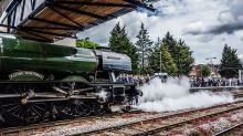 A journey back in time on the Flying Scotsman