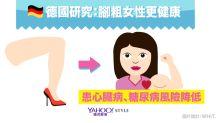 有數計:蜜大腿有福了!德研究:腿粗女生更健康
