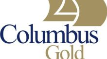 Columbus Gold Announces $2.5 Million Private Placement